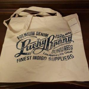 Lucky Brand Lightweight Cloth Bag